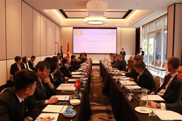 Vietnam et Australie: premier dialogue sur la securite au niveau de vice-ministre hinh anh 1