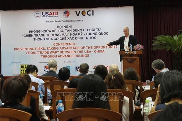 Attenuation des risques dans le contexte de la guerre commerciale sino-americaine hinh anh 1