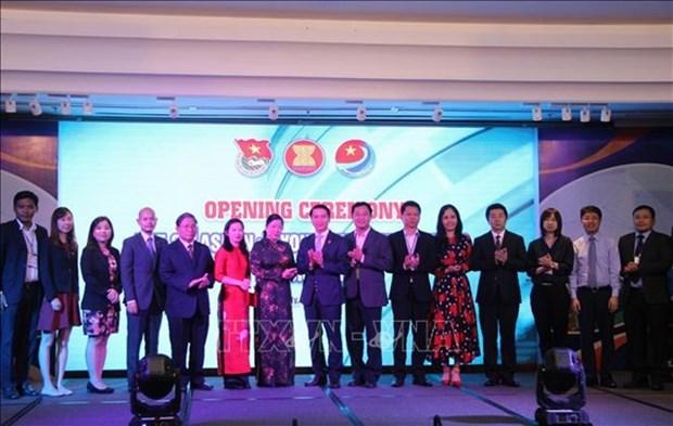 Ouverture du Forum des jeunes entrepreneurs de l'ASEAN + 3 a Ho Chi Minh-Ville hinh anh 1