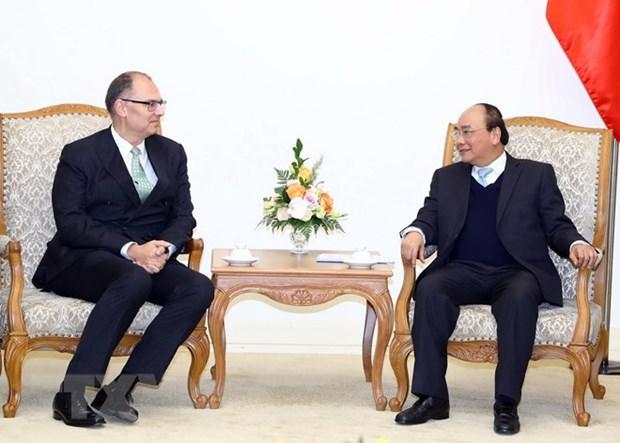 Le PM recoit les nouveaux ambassadeurs de Chine et du Danemark hinh anh 2