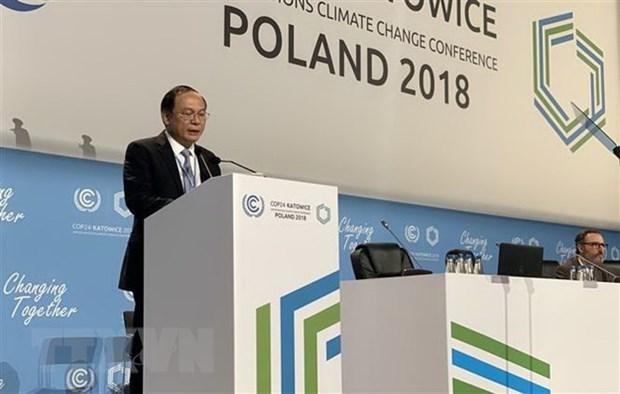 Le Vietnam appelle a s'unir face au changement climatique hinh anh 1
