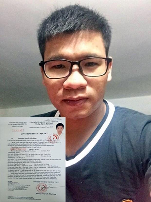 Un homme soupconne de subversion recherche par la police hinh anh 1