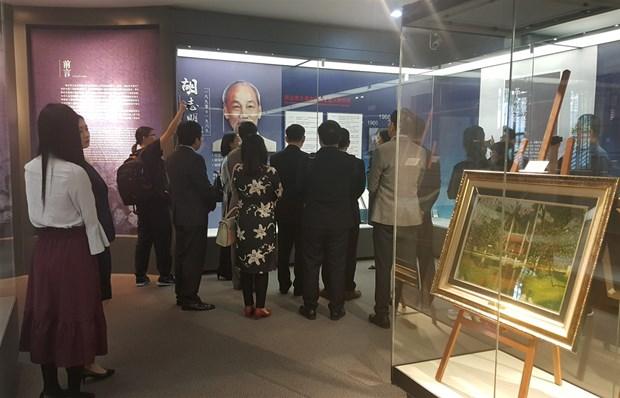 Exposition : Dans les pas du President Ho Chi Minh en Chine hinh anh 2