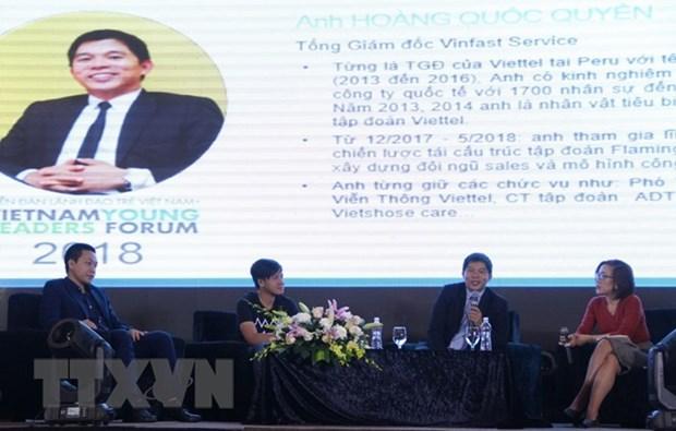 Forum de jeunes entrepreneurs du Vietnam 2018 hinh anh 1