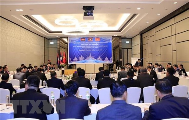 Cooperation Vietnam-Laos-Cambodge dans le secteur judiciaire hinh anh 1