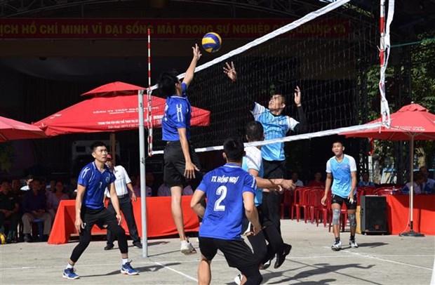 Evenement sportif commun entre Dong Thap et Prey Veng (Cambodge) hinh anh 1