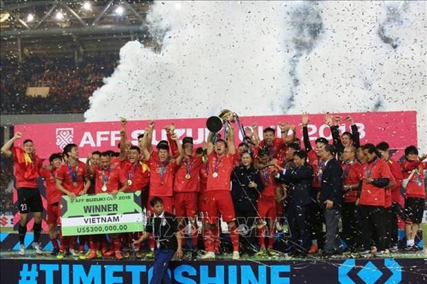 AFF Suzuki Cup : Le sacre du Vietnam fait les titres internationaux hinh anh 1