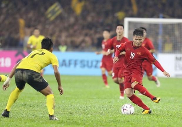 AFF Suzuki Cup: Nguyen Quang Hai parmi les dix meilleurs joueurs de l'Asie hinh anh 1