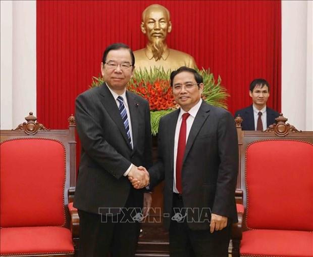 Vietnam-Japon : resserrement des relations entre les deux Partis communistes hinh anh 1