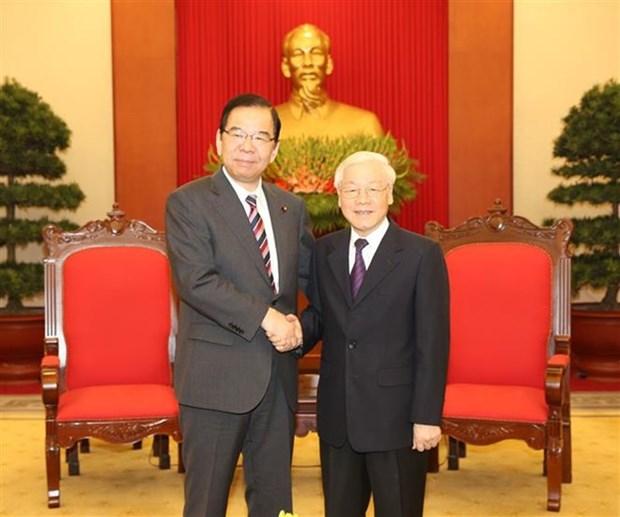 Promotion de la coooperation entre les Partis communistes du Vietnam et du Japon hinh anh 1