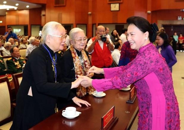Le Comite de sante publique de l'ancien bureau du CC du PCV au Sud honore hinh anh 1