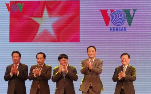 Lancement officiel de l'emission en coreen de VOV hinh anh 1