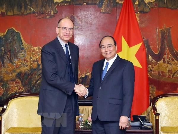 Le partenariat strategique Vietnam-Italie se developpe heureusement hinh anh 1