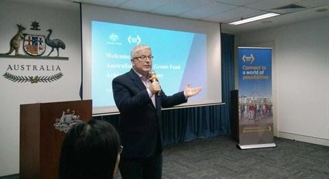 L'Australie promet son soutien aux anciens boursiers vietnamiens hinh anh 1
