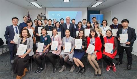 L'Australie promet son soutien aux anciens boursiers vietnamiens hinh anh 2