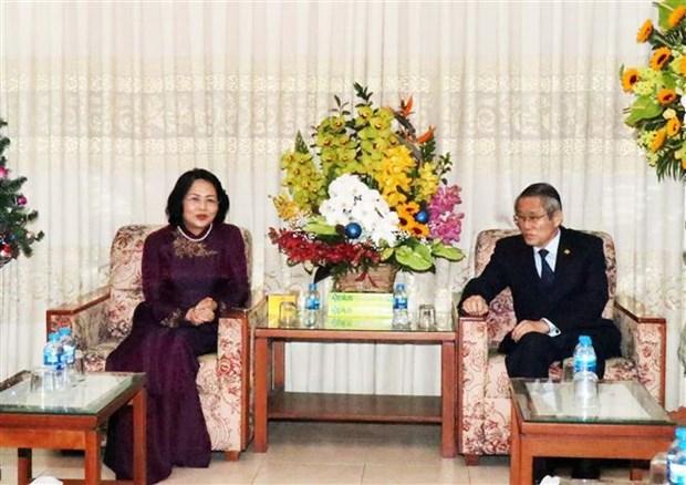 Noel : meilleurs voeux a la Confederation generale de l'Eglise evangelique du Vietnam (Sud) hinh anh 1