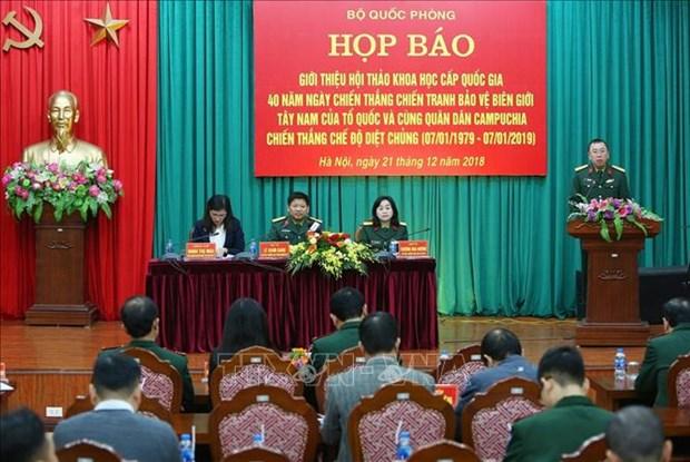 Prochainement un symposium national sur la victoire de la defense de la frontiere du Sud-Ouest hinh anh 1