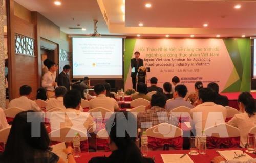 Le Japon cherche a aider le Vietnam a ameliorer son industrie de la transformation des aliments hinh anh 1