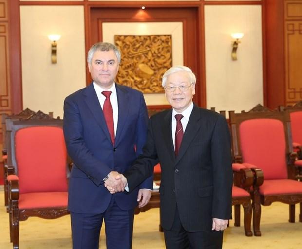 Le Vietnam prend en consideration le partenariat strategique integral avec la Russie hinh anh 1