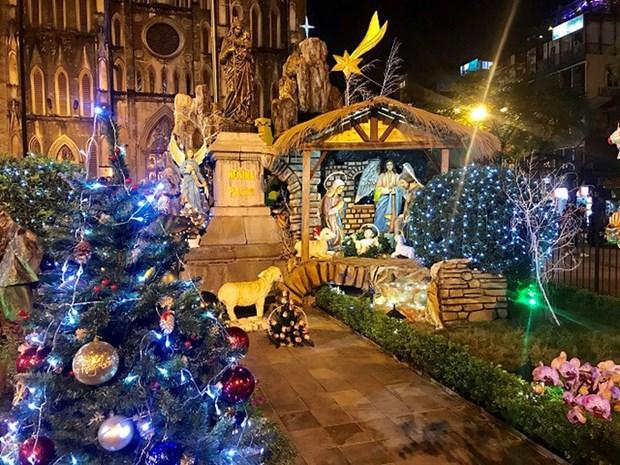 Hanoi brille de mille feux a l'approche de Noel hinh anh 4