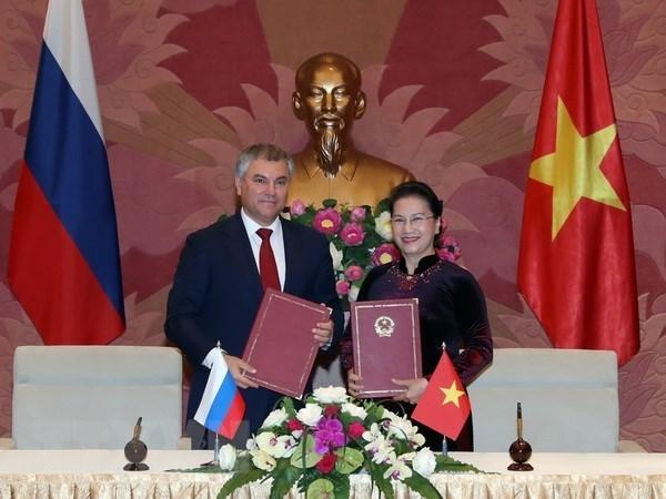 La cooperation parlementaire-pilier important des relations entre le Vietnam et la Russie hinh anh 1