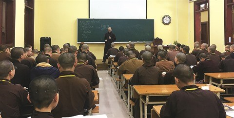 L'education bouddhique au plus haut niveau hinh anh 2