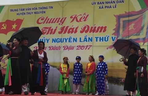 Hai Phong, la terre du chant dum hinh anh 2