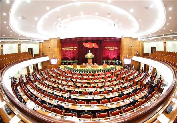 Cloture du 9e Plenum du Comite central du Parti (XIIe mandat) hinh anh 1