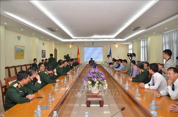 La defense est le pilier des relations de cooperation Vietnam-Cambodge hinh anh 1