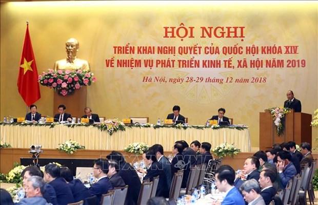 Cloture de la conference nationale entre le gouvernement et les localites hinh anh 1