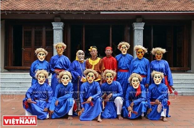 Bui Van Hung, l'ame de la danse folklorique Xuan Pha hinh anh 4
