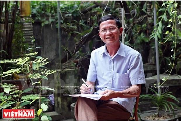 Bui Van Hung, l'ame de la danse folklorique Xuan Pha hinh anh 1