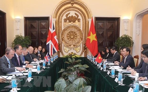 Le Vietnam et le Royaume-Uni tiennent leur consultation politique hinh anh 1