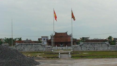 Le temple de Khuc Thua Du a Ninh Giang hinh anh 1