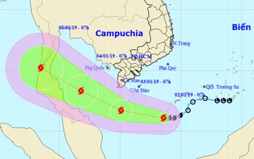 Le Vietnam se prepare a affronter le premier typhon de 2019 hinh anh 1