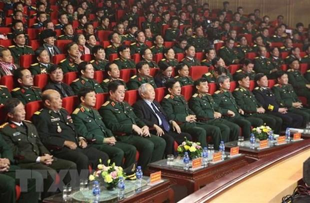 Victoire de la defense de la frontiere Sud-Ouest : rencontre de temoins historiques a Hanoi hinh anh 1