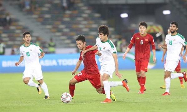 Asian Cup 2019: les Vietnamiens trebuchent sur l'obstacle irakien hinh anh 1