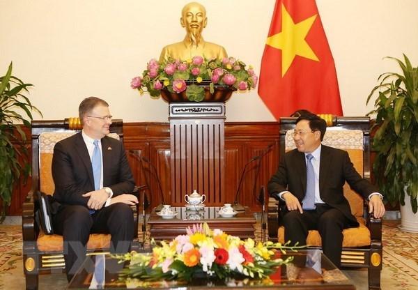 Le vice-PM Pham Binh Minh recoit l'ambassadeur des Etats-Unis hinh anh 1