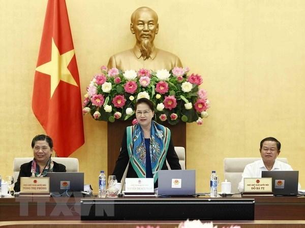 Le Comite permanent de l'AN se reunira le 10 janvier hinh anh 1