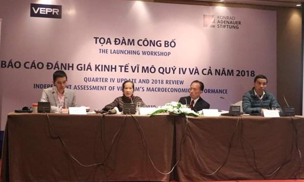 Le VEPR prevoit une croissance vietnamienne de 6,9% en 2019 hinh anh 1