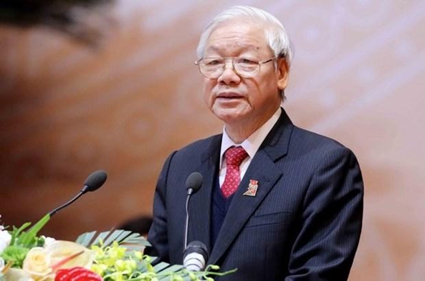 Vietnam-Suede: echange de messages de felicitations hinh anh 1