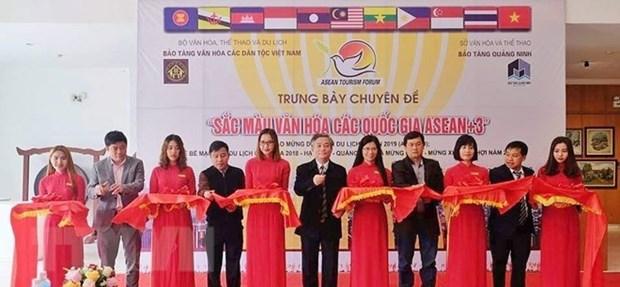 Exposition sur la culture de l'ASEAN et de ses partenaires a Quang Ninh hinh anh 1