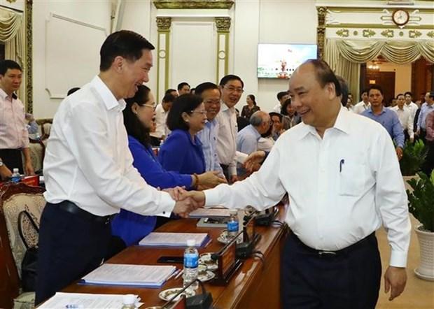 Ho Chi Minh-Ville appelee a egaler Hong Kong et Singapour hinh anh 1