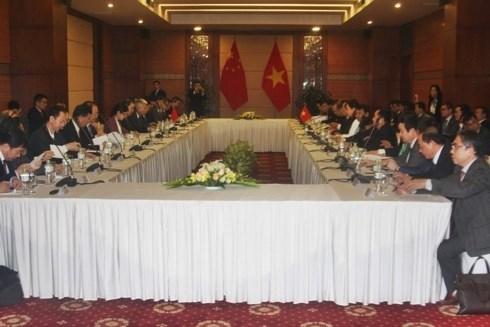 Le Vietnam et la Chine negocient sur les questions territoriales et frontalieres hinh anh 1