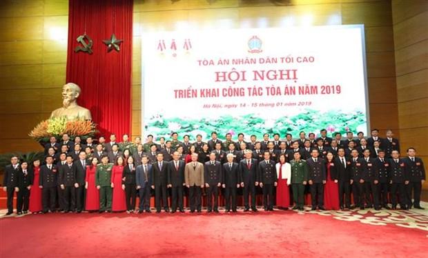 Le leader du Parti demande de renforcer la reforme judiciaire hinh anh 2