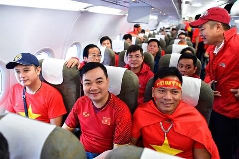 Coupe d'Asie de football 2019: un vol gratuit pour les supporters vietnamiens hinh anh 1