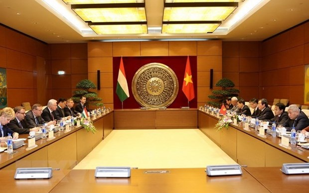 Renforcement de la cooperation parlementaire Vietnam-Hongrie hinh anh 1