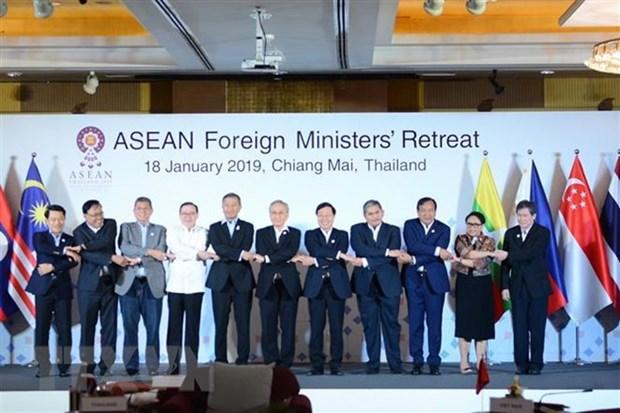 Cloture de la conference restreinte des ministres des AE de l'ASEAN en Thailande hinh anh 1