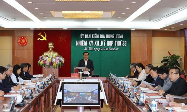 La Commission de controle du Parti sanctionne plusieurs fonctionnaires hinh anh 1