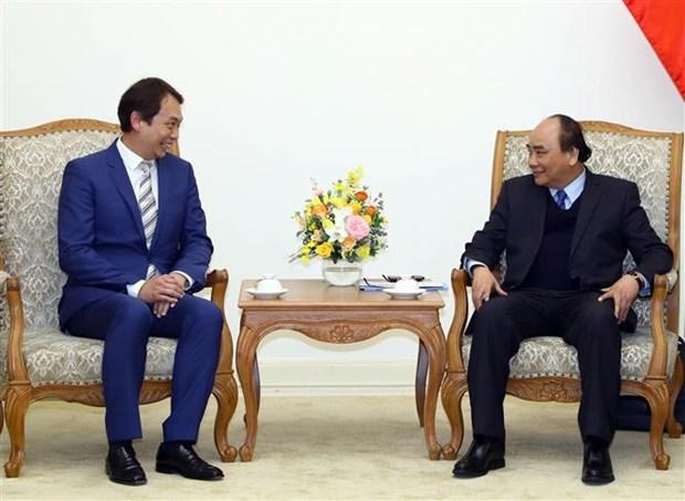 Le PM recoit le president de la Federation manufacturiere de Singapour hinh anh 1
